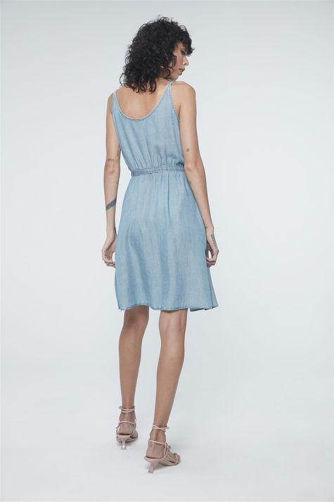 Vestido-Jeans-Secretaria-Estampa-Floral-Detalhe--