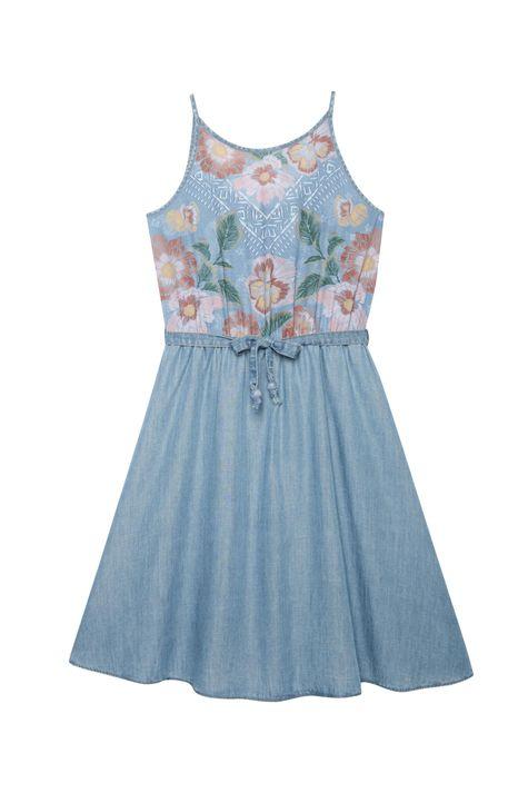 Vestido-Jeans-Secretaria-Estampa-Floral-Detalhe-Still--