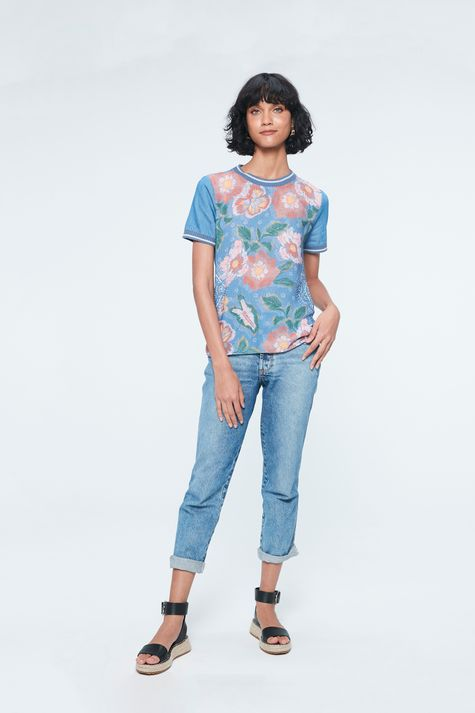 Blusa-Jeans-com-Estampa-Floral-e-Ribanas-Detalhe-1--
