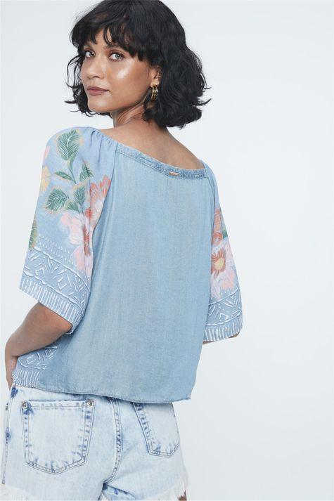 Blusa-Jeans-Ombro-a-Ombro-Estampa-Floral-Costas--