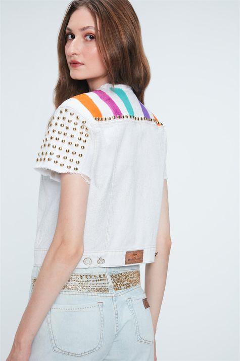 Jaqueta-Jeans-Color-Trucker-Recollect-Costas--