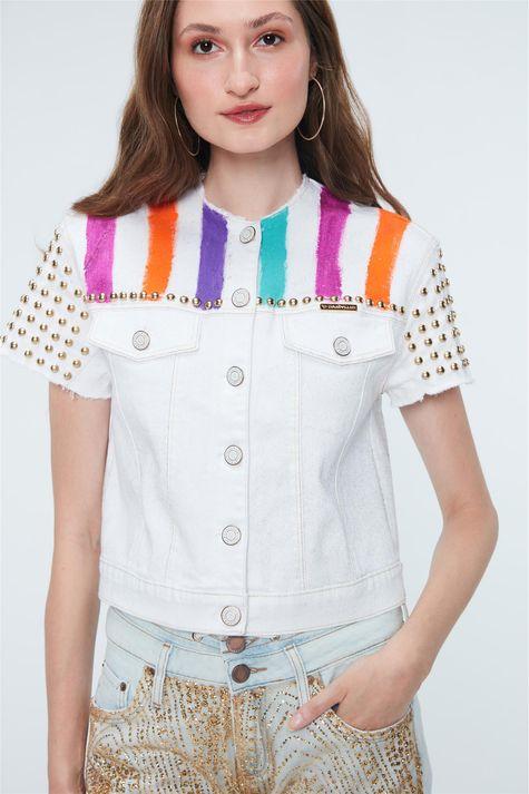 Jaqueta-Jeans-Color-Trucker-Recollect-Detalhe--
