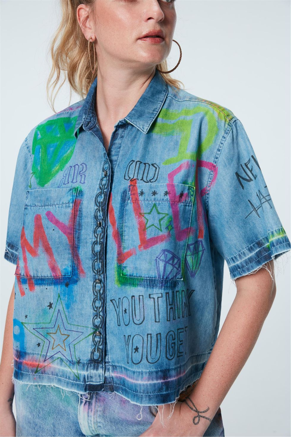 Camisa-Jeans-Cropped-Recollect-Frente--
