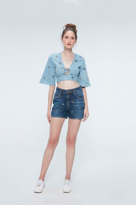 Short-Jeans-de-Cintura-Alta-Recollect-Detalhe-2--