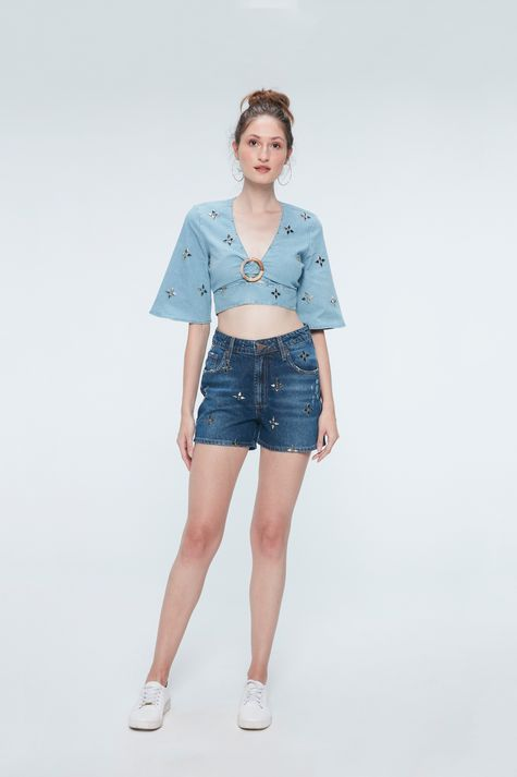 Blusa-Cropped-Jeans-com-Tachas-Recollect-Detalhe-1--