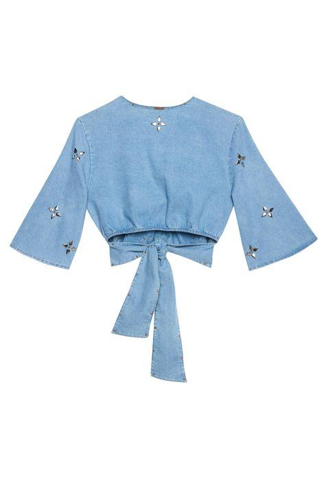 Blusa-Cropped-Jeans-com-Tachas-Recollect-Detalhe-2--