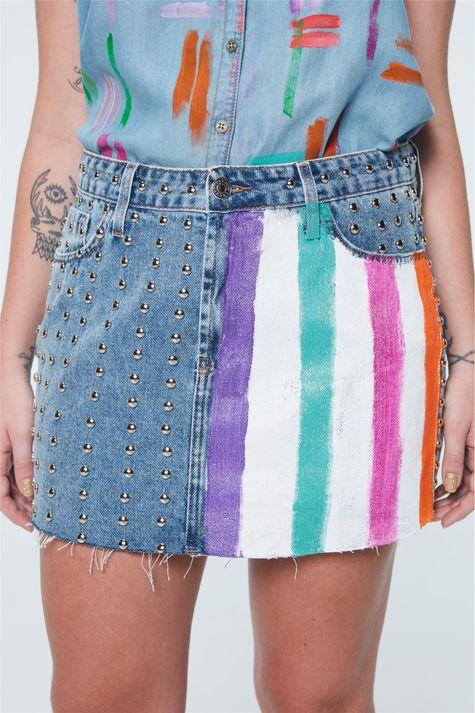Saia-Jeans-Mini-com-Tachas-Recollect-Detalhe--