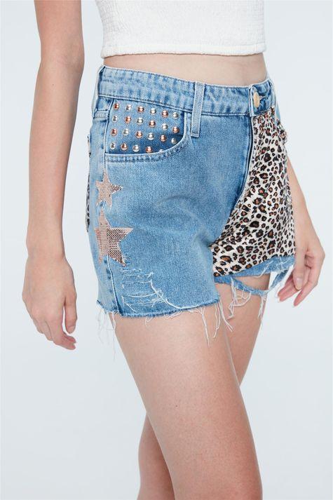Short-Jeans-Animal-Print-Recollect-Detalhe--