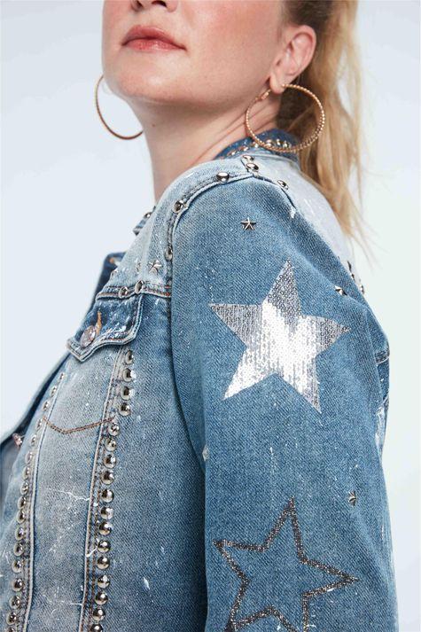 Jaqueta-Jeans-com-Tachas-Recollect-Frente--