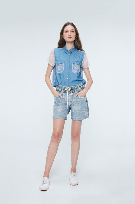 Camisa-Jeans-com-Paete-Prata-Recollect-Detalhe-1--