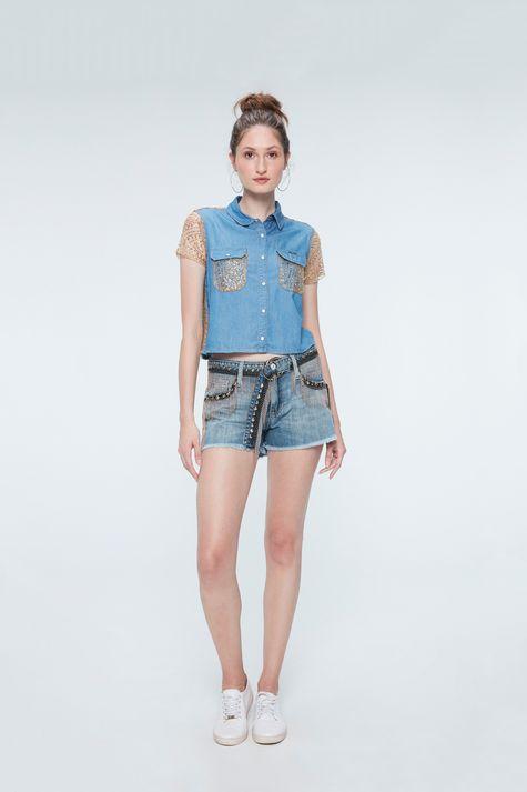 Camisa-Jeans-Paete-Dourado-Recollect-Detalhe-1--