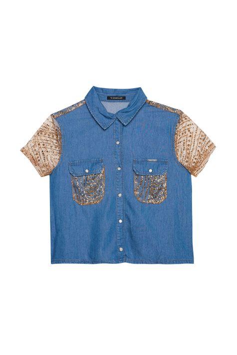 Camisa-Jeans-Paete-Dourado-Recollect-Detalhe-Still--