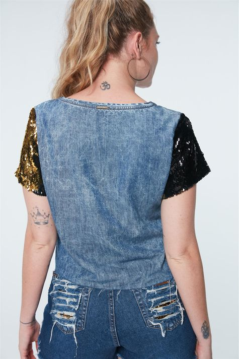Camiseta-Jeans-Cropped-Paete-Recollect-Detalhe--