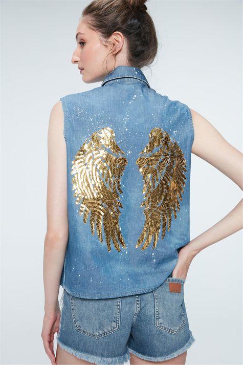 Camisa-Jeans-com-Asas-de-Paete-Recollect-Costas--