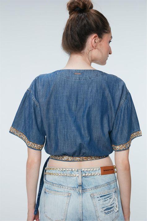 Blusa-Cropped-Jeans-com-Strass-Recollect-Detalhe--