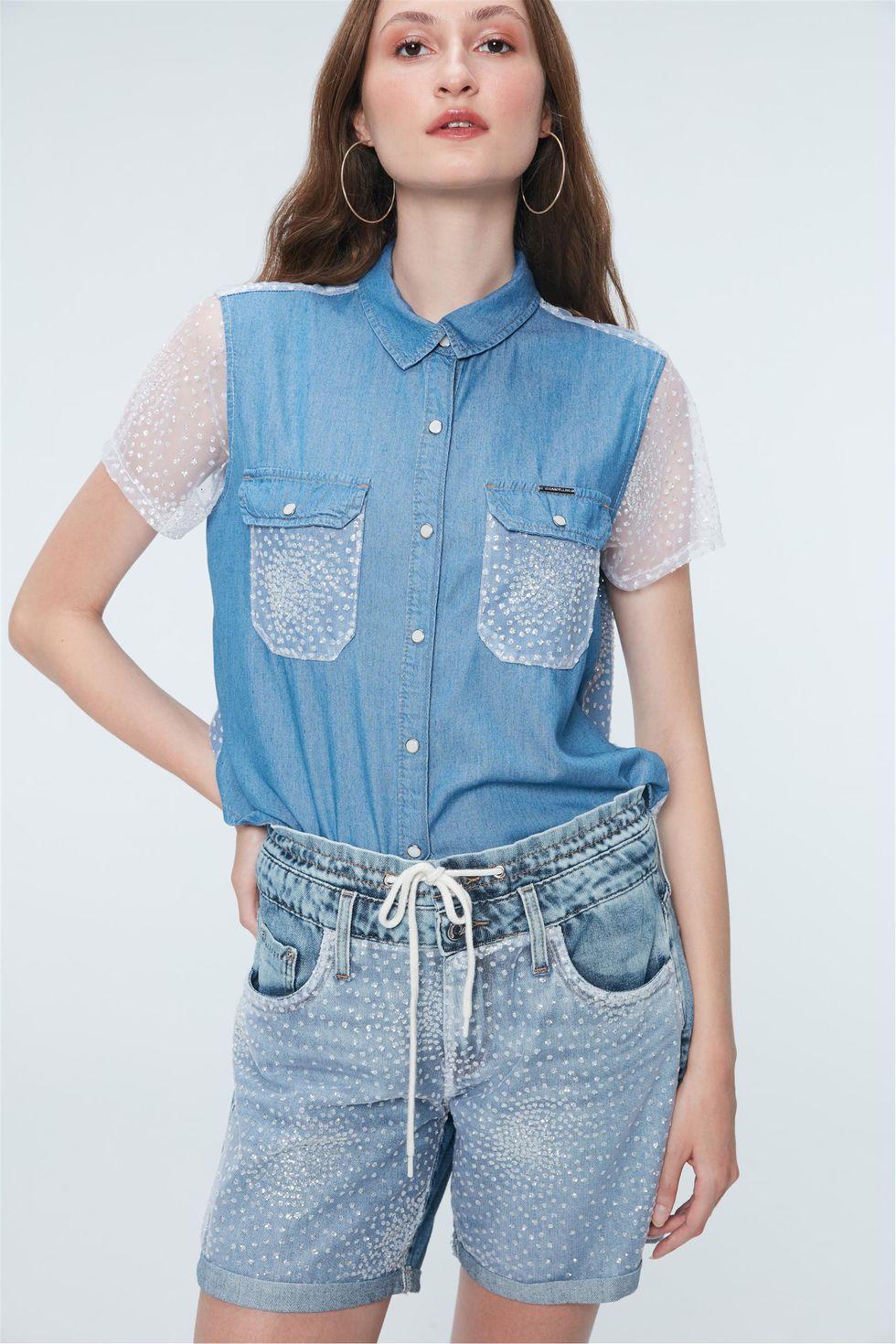 Bermuda-Jeans-com-Paete-Prata-Recollect-Frente--