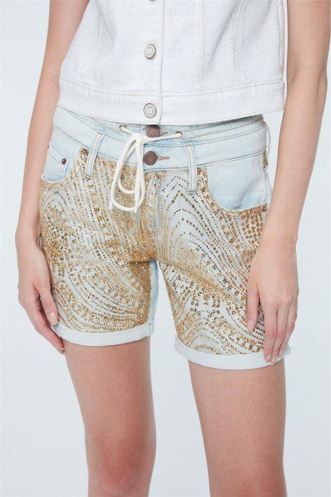 Bermuda-Jeans-Paete-Dourado-Recollect-Detalhe--