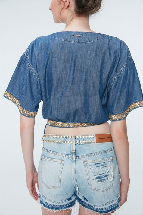 Short-Jeans-Mini-com-Strass-Recollect-Costas--