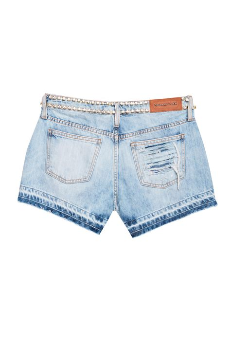 Short-Jeans-Mini-com-Strass-Recollect-Detalhe-3--