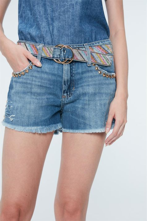 Short-Jeans-com-Tachas-Recollect-Frente--