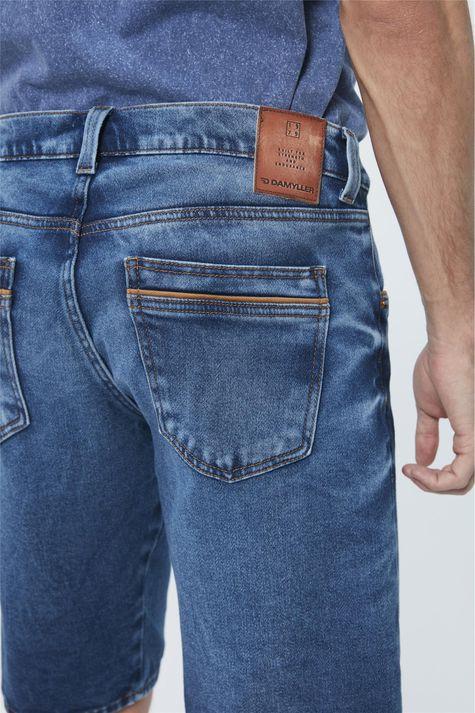 Bermuda-Jeans-Escuro-Skinny-Masculina-Detalhe-1--