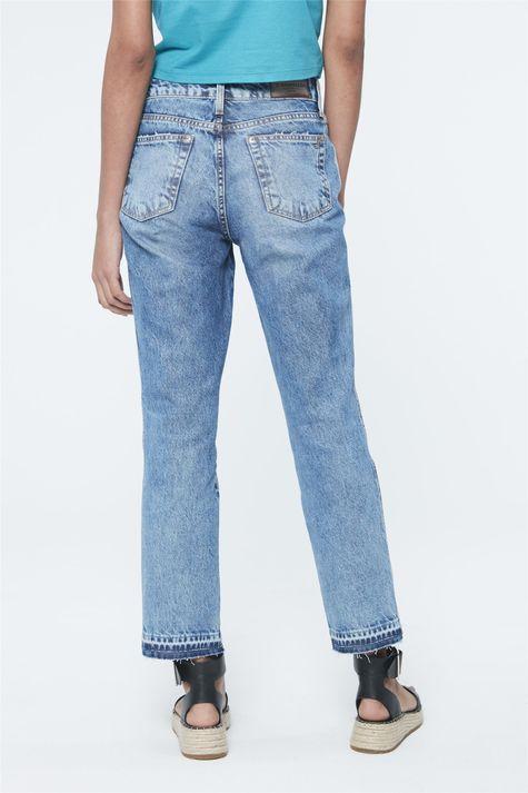 Calca-Jeans-de-Cintura-Alta-Reta-Cropped-Costas--