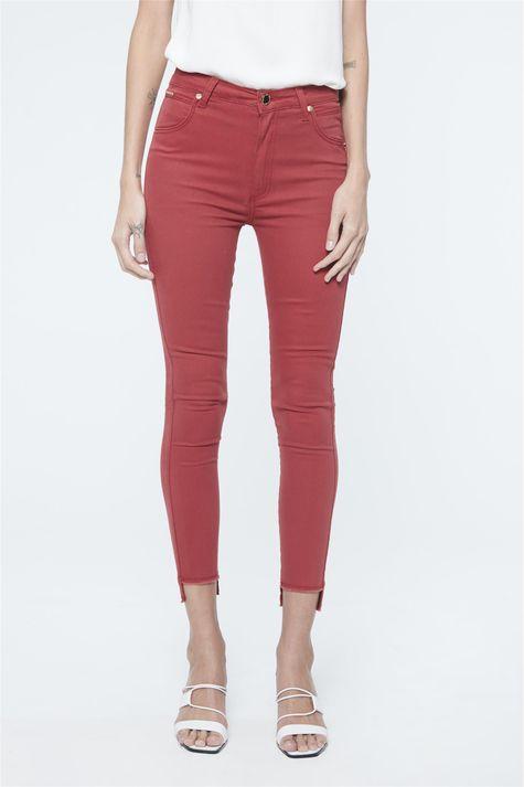 Calca-Cropped-Jeans-Preto-Cintura-Alta-Frente--