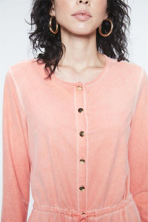Camisa-de-Suede-Estonada-Feminina-Detalhe--