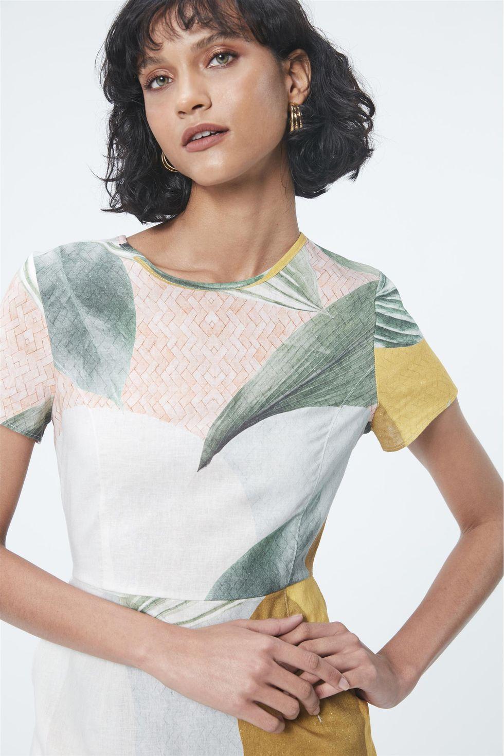 Vestido-Estampa-Geometrica-e-Folhagens-Frente--