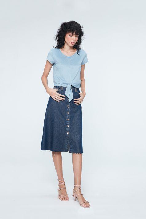 Look-Saia-Jeans-Midi-Evase