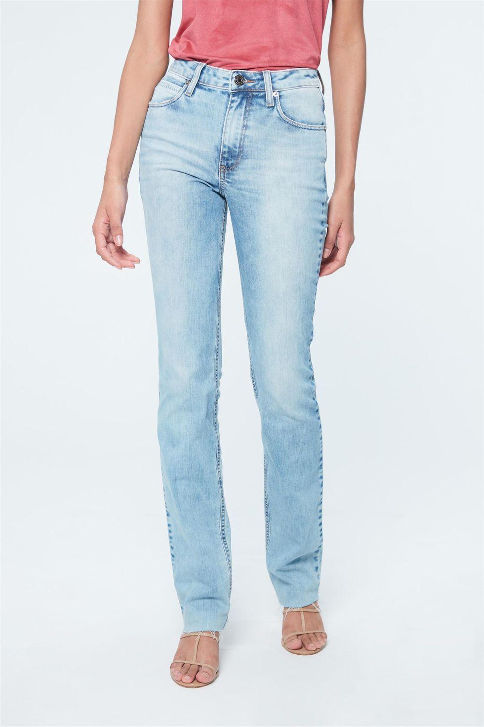 Calca-Jeans-Azul-Claro-Reta-Cintura-Alta-Frente--