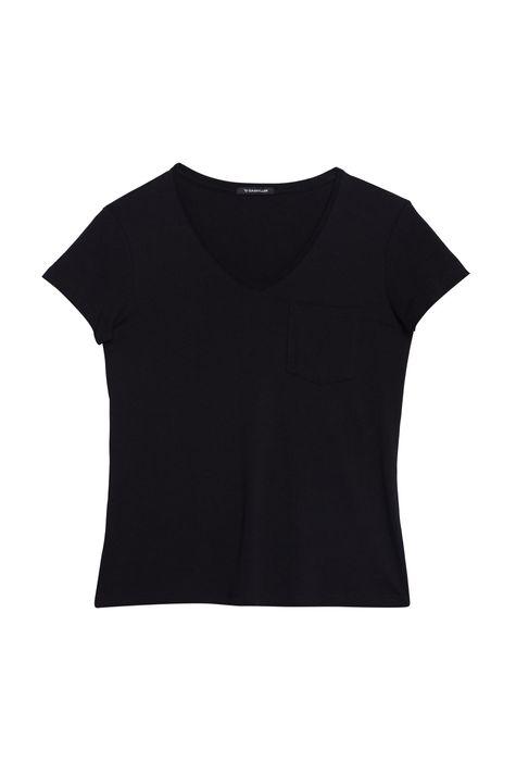 Camiseta-Lisa-com-Bolso-Feminina-Detalhe-Still--