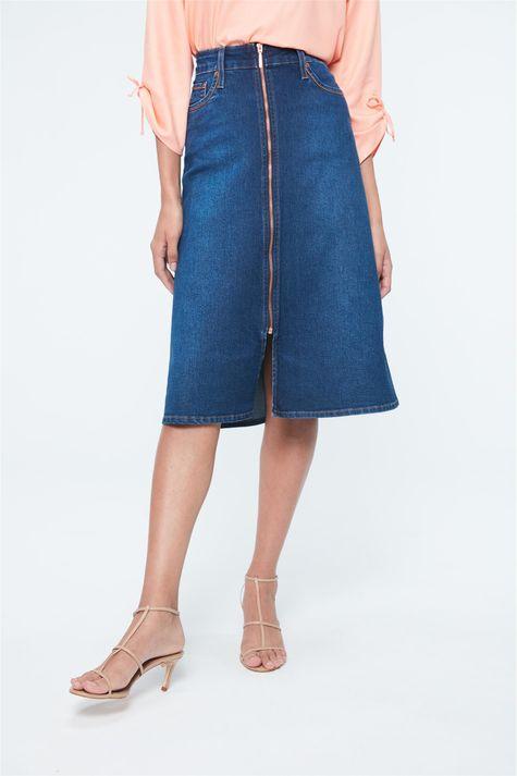 Saia-Jeans-Midi-com-Ziper-Frontal-Costas--