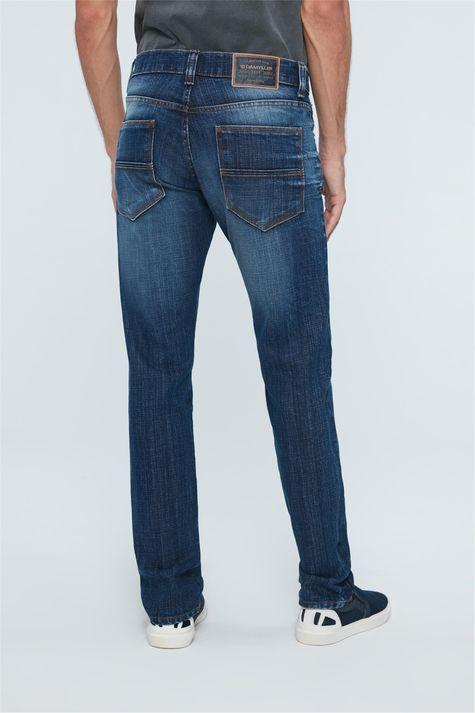 Calca-Jeans-Escuro-Skinny-Masculina-Costas--