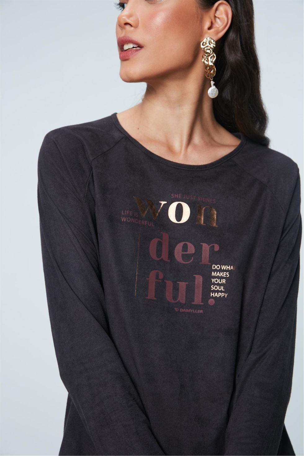 Camiseta-de-Suede-com-Estampa-Wonderful-Frente--
