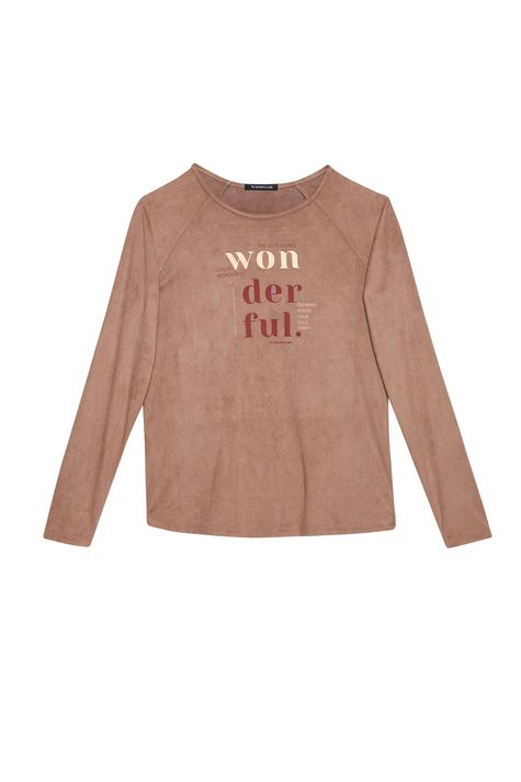 Camiseta-de-Suede-com-Estampa-Wonderful-Detalhe-Still--