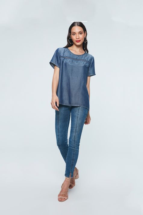 Blusa-Jeans-com-Estampa-Etnica-Detalhe-1--