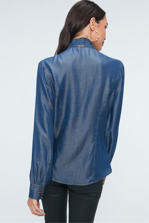 Camisa-Jeans-com-Gola-Laco-Feminina-Costas--
