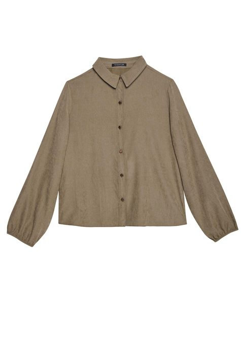 Camisa-com-Mangas-Bufantes-Feminina-Detalhe-Still--