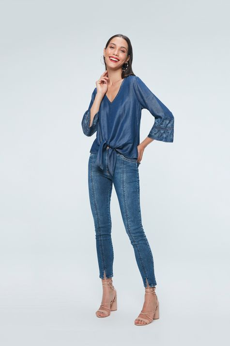 Look-Feminino-Blusa-Jeans--Amarracao