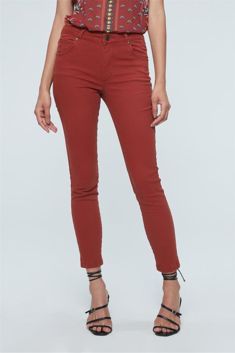 Calca-Skinny-Cropped-Cintura-Alta-Color-Costas--