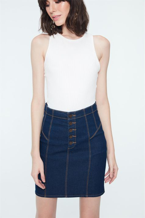 Saia-Jeans-Media-com-Botoes-Detalhe--