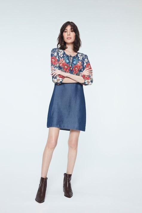 Vestido-Medio-Jeans-com-Estampa-Floral-Detalhe-1--