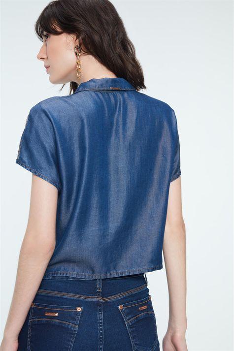 Camisa-de-Manga-Curta-Jeans-Estampada-Costas--