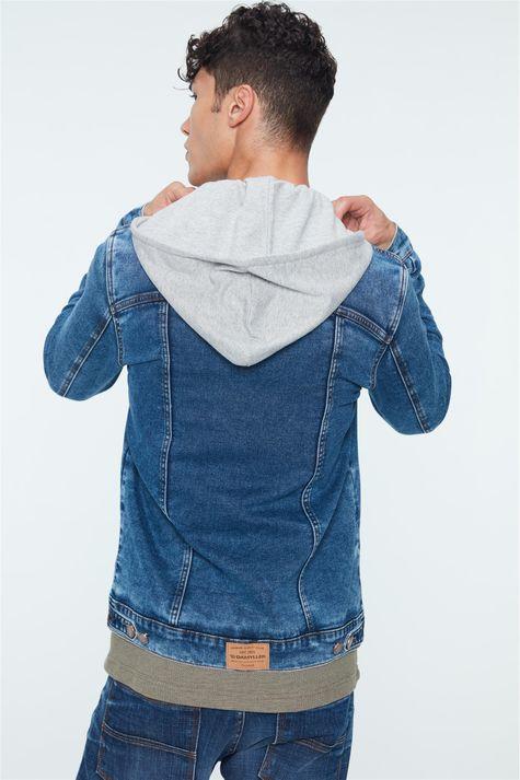 Jaqueta-Jeans-Trucker-de-Capuz-Masculina-Detalhe--