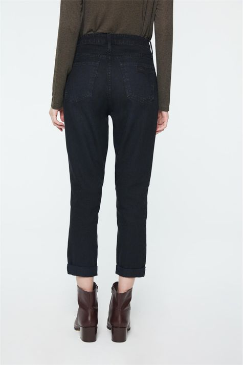 Calca-Mom-Jeans-Preta-Feminina-Costas--