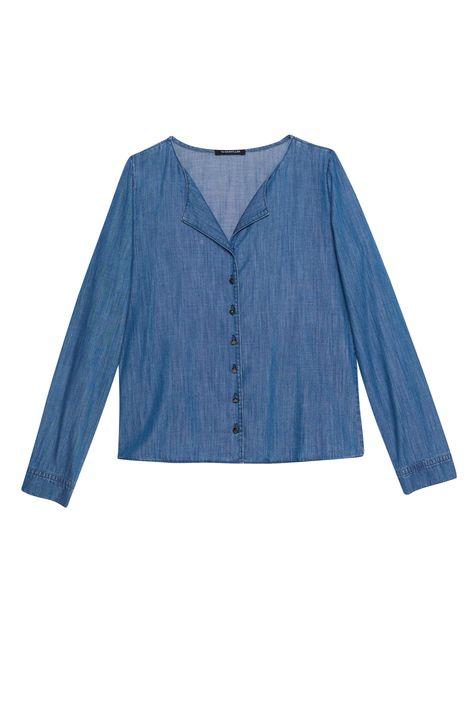 Camisa-Jeans-Azul-Medio-Feminina-Detalhe-Still--