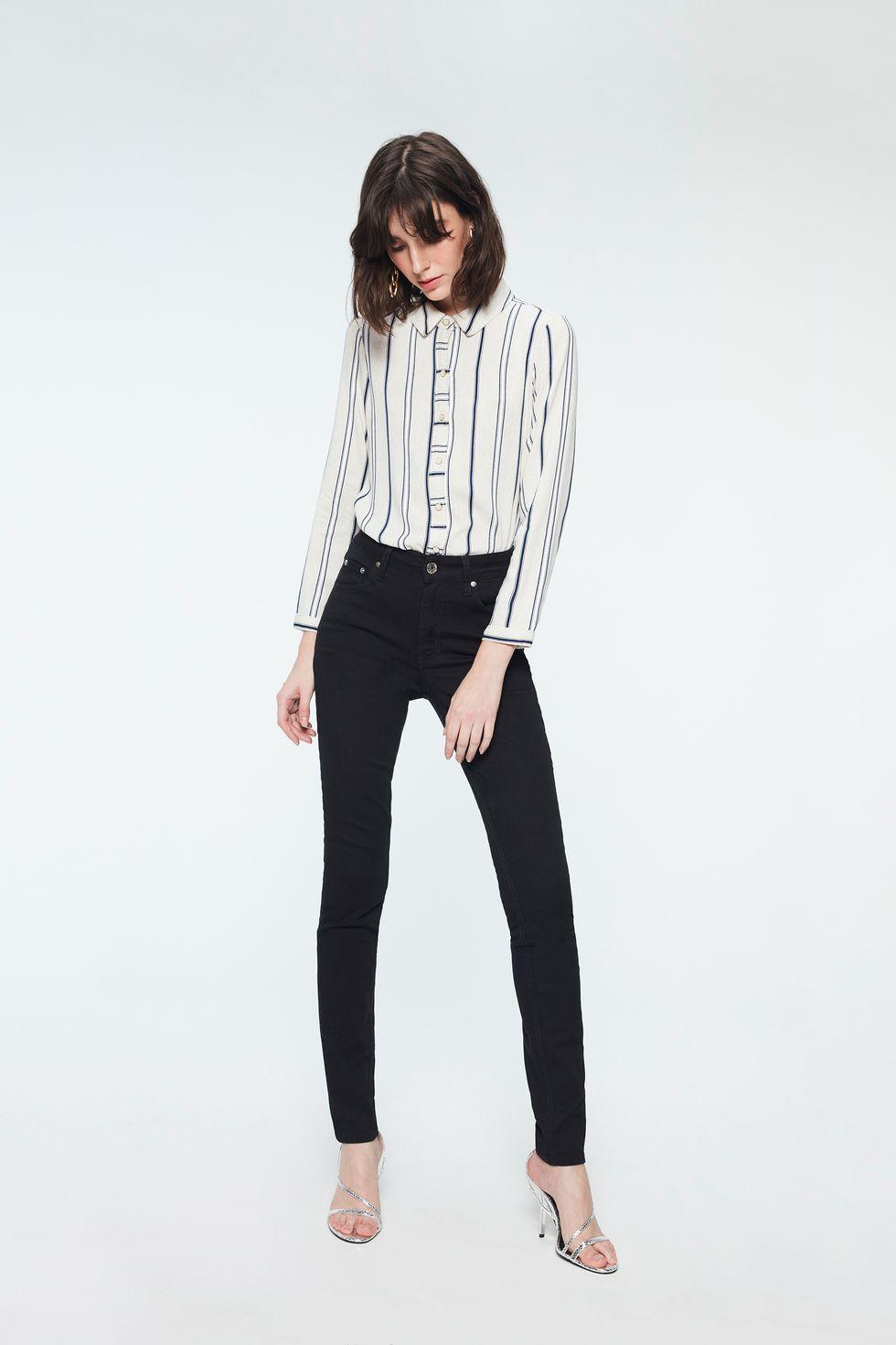 Calca-Cintura-Alta-Skinny-Color-Feminina-Frente--