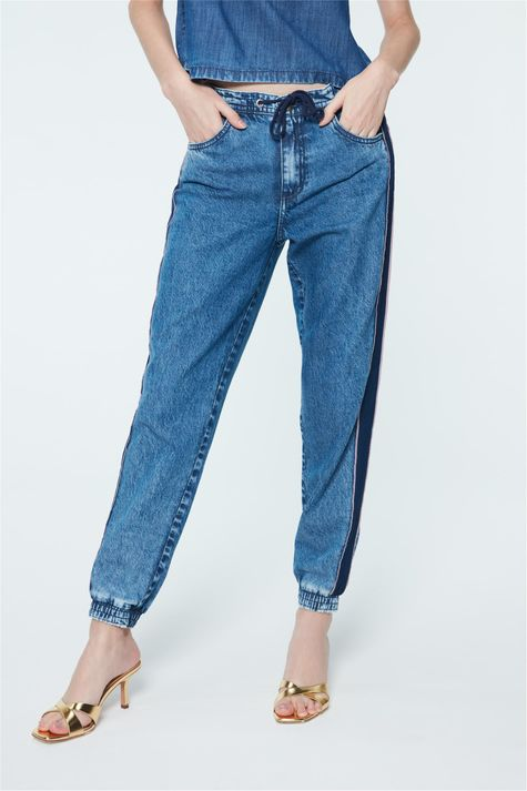 Calca-Jeans-Jogger-com-Recortes-Feminina-Detalhe--