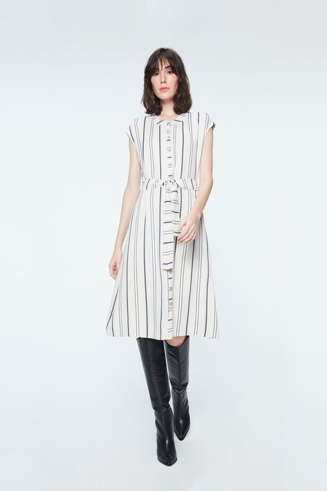 Vestido-Midi-com-Estampa-Listrada-Detalhe-1--